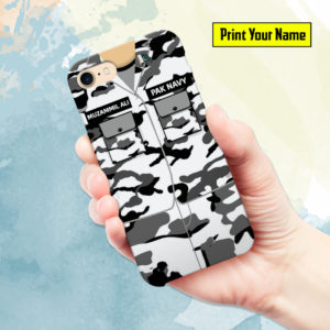 Pakistan Navy Uniform Mobile Cover and Phone Case