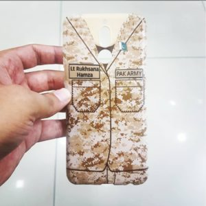 pakistan army name printed mobile covers