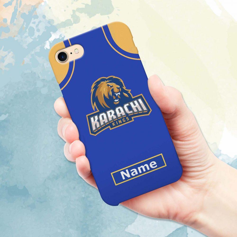 Karachi Kings Mobile Cover - Design #1