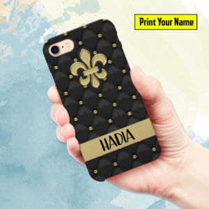 Fancy - Print Your Name Mobile Cover - Design #007