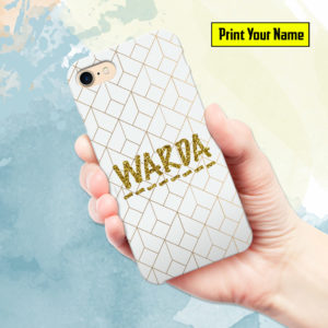 Fancy - Print Your Name Mobile Cover - Design #008