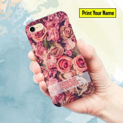 Fancy - Print Your Name Mobile Cover - Design #010