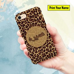 Funky - Print Your Name Mobile Cover - Design #011