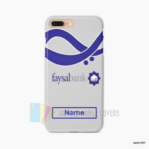 Faysal Bank Mobile Cover