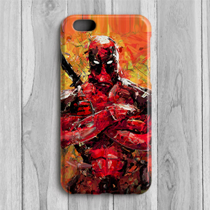 deadpool superhero mobile covers