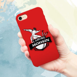 Name Print Lahore Qalandars Mobile covers in Pakistan