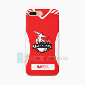 Name Print Lahore Qalandars Kit Mobile covers in Pakistan