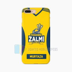 Name Print Peshawar Zalmi PSL Mobile covers in Pakistan